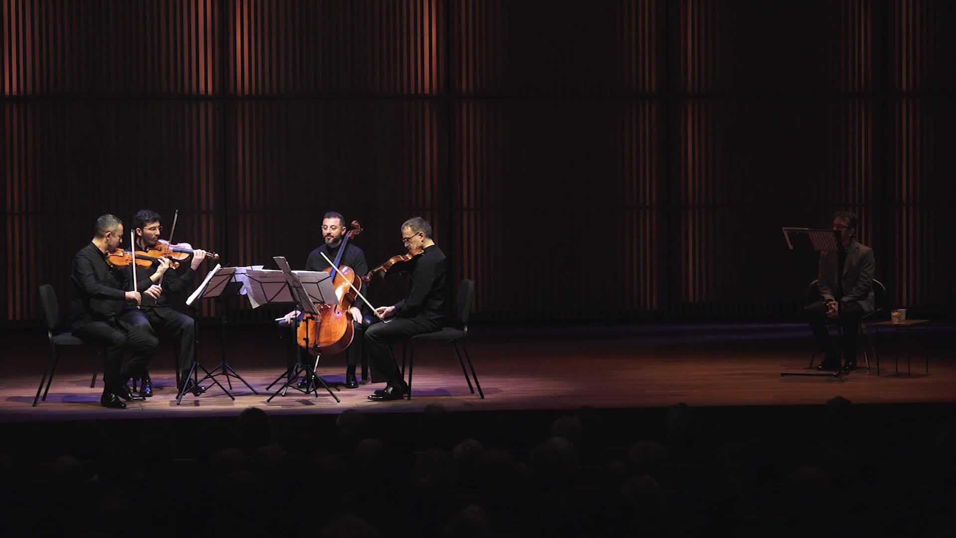 Borusan Quartet: Hasan Uçarsu – String Quartet No. 2 'The Untold'
